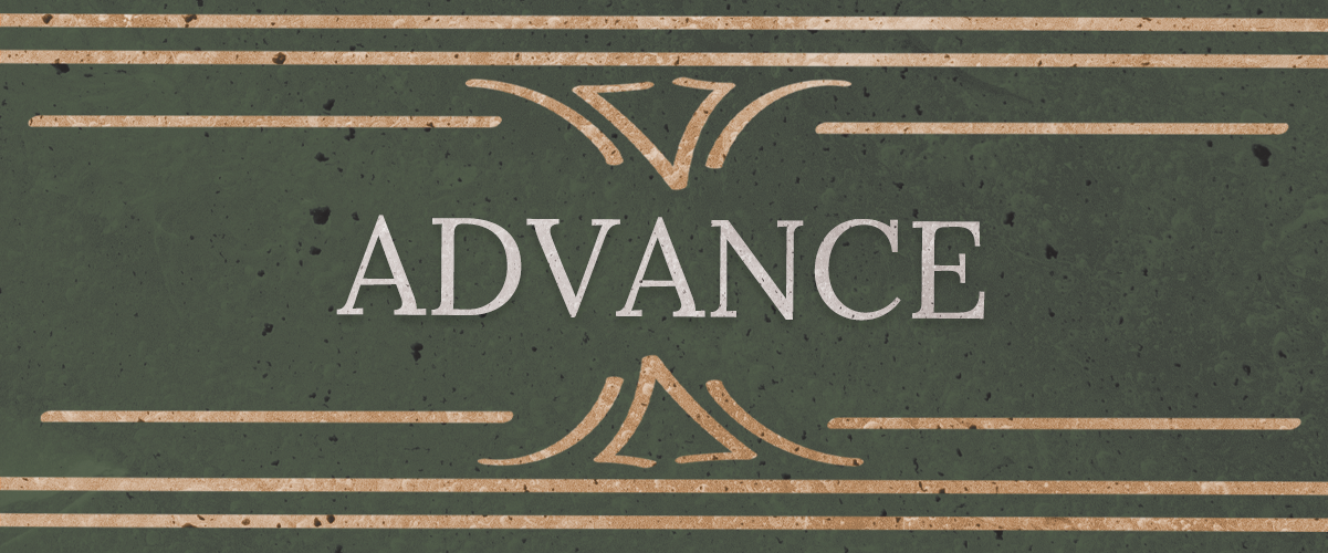 """Advance"""